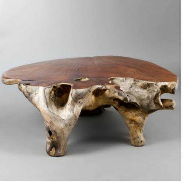 Holzmöbel design  40 Couchtisch Design Ideen - Ihre Wohnung kann schöner aussehen