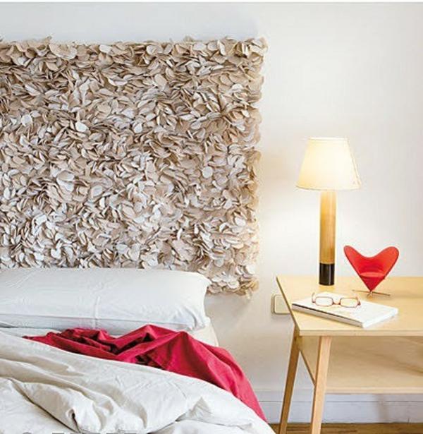 niedlich kreativ kunstvoll schlafzimmer bett