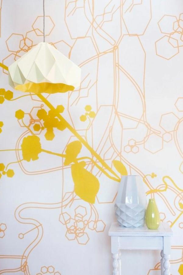 origami lampenschirme ideen DIY geometrisch
