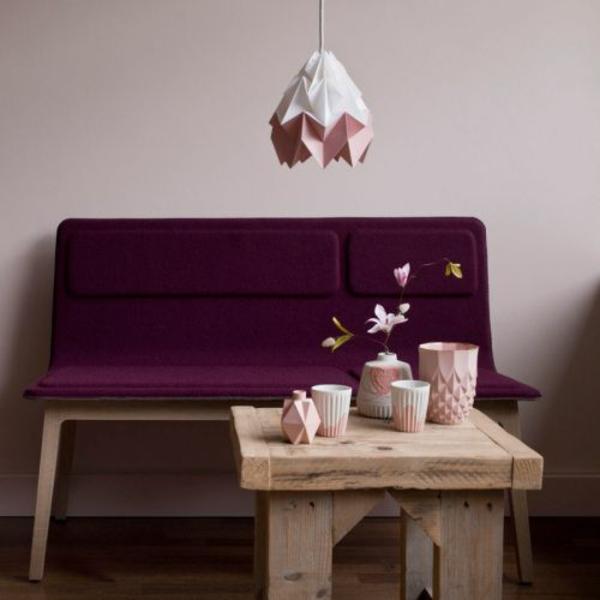 lampenschirme ideen DIY sofa