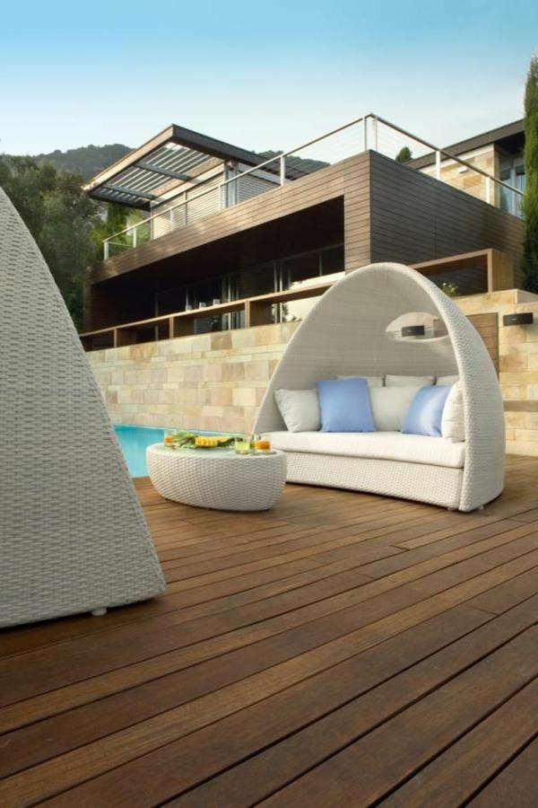 outdoor rattanmöbel modern zeitgenössisch