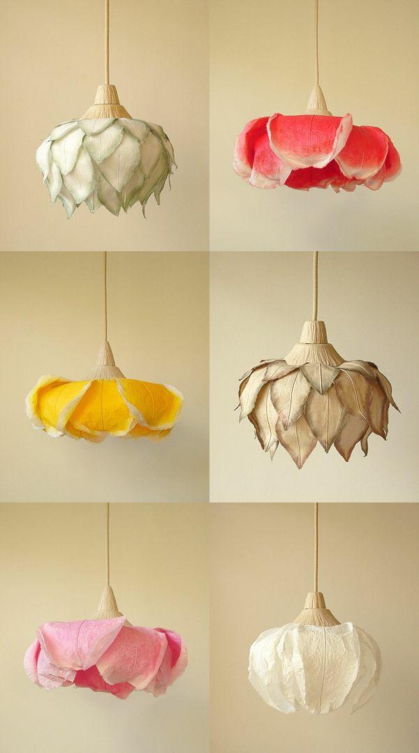 papierleuchten von sachie muramatsu blumen