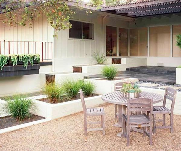 Patio Design Vorgartengestaltung Modern Auf Mehr Ebenen