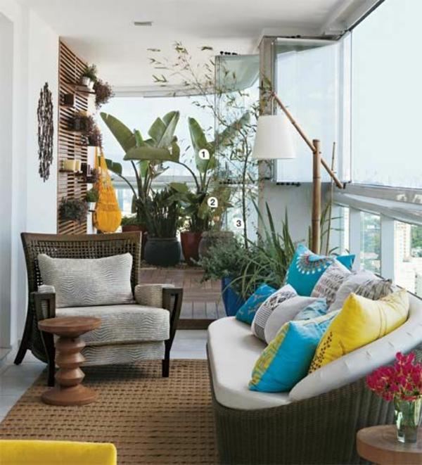 patio designideen terrassenteppich outdoor möbel dekoration