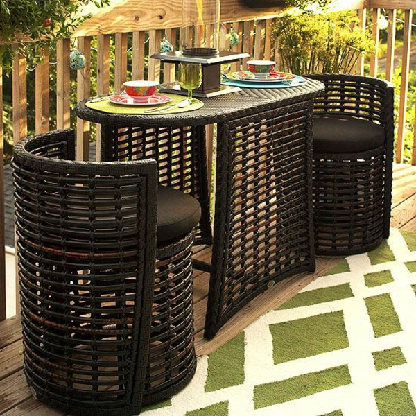 patio essraum gastronomie outdoor möbel rattan barhocker