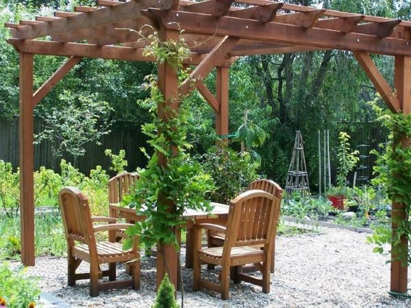 Pergola bausatz 40 pergolas und gartenlauben f r ihren au enbereich - Gartenpflanzen straucher ...