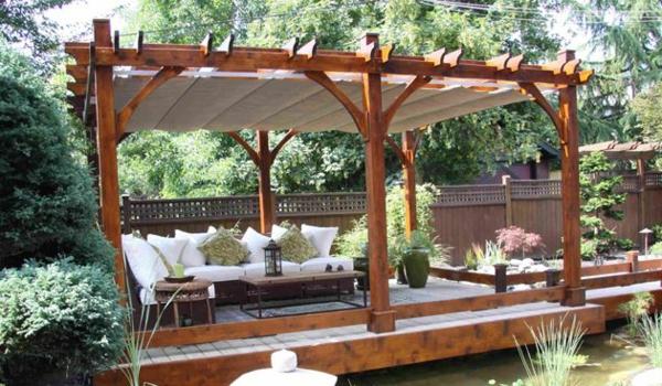 Garten Sonnenschirm mit tolle stil für ihr wohnideen