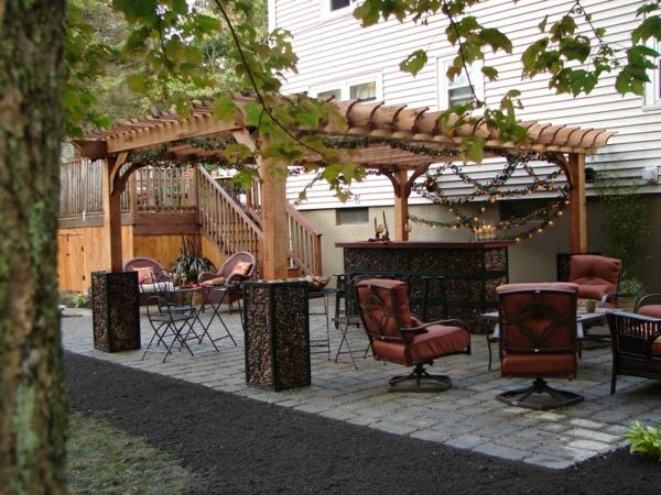 pergola bausatz 40 pergolas und gartenlauben f r ihren au enbereich. Black Bedroom Furniture Sets. Home Design Ideas