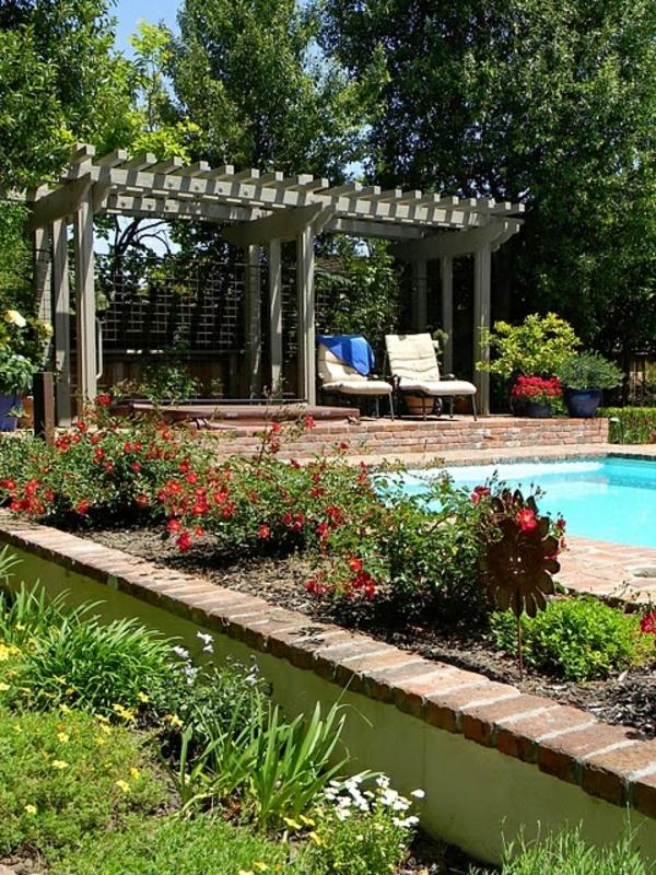 garten ideen pool inspiration ber haus design. Black Bedroom Furniture Sets. Home Design Ideas