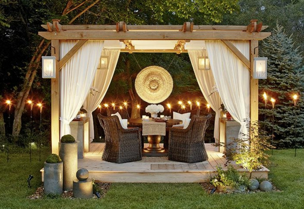pergola bausatz 40 pergolas und gartenlauben f r ihren. Black Bedroom Furniture Sets. Home Design Ideas