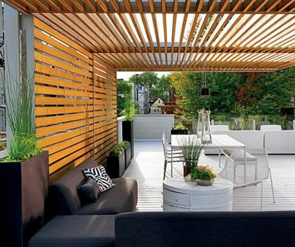 Gartenmobel Kettler Elba : pergola selber bauen holzwand und decke gartenmöbel