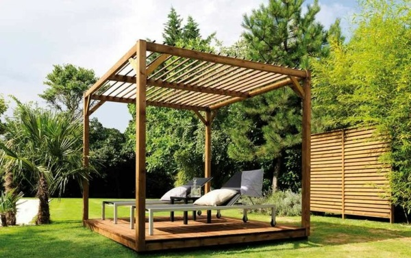 pergola bausatz freistehend holz. Black Bedroom Furniture Sets. Home Design Ideas