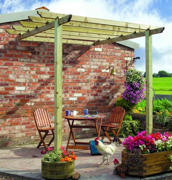 Gartenmobel Set Quelle : Pergola Bausatz – 40 Pergolas und Gartenlauben für Ihren