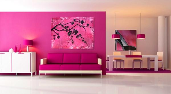 20170116041708 Wandgestaltung Schlafzimmer Pink ~ Easinext.com