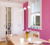 Pinke Wandfarbe – Wie können Sie Ihre Wände kreativ streichen?