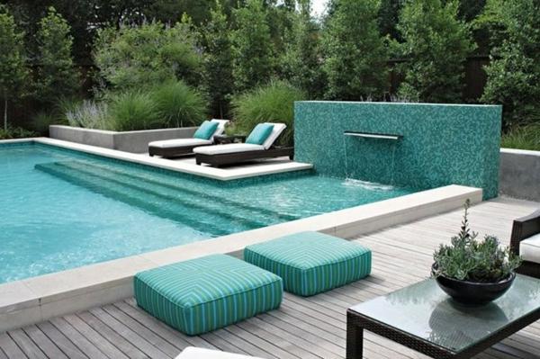 pool im Garten wateranlage bonick landschaft