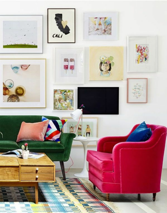raumgestaltung ideen farbgestaltung texturen wandgestaltung bilder