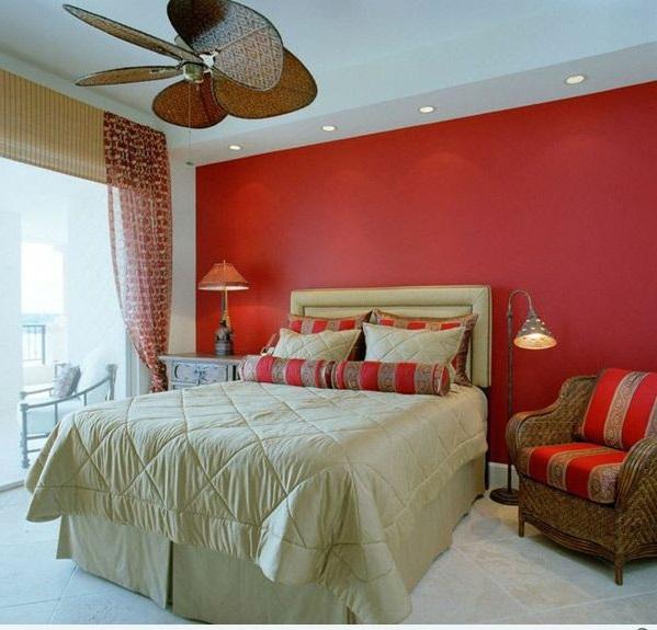 Schlafzimmer Farbideen - Seien Sie Kreativ Bei Der Farbauswahl Schlafzimmer Rote Wand