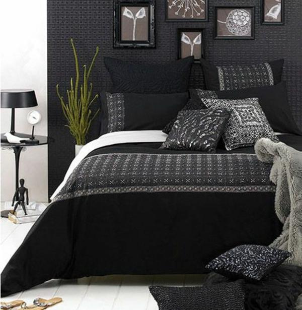 40 Stilvolle Ideen Für Einrichtung In Ihrer Wohnung Schlafzimmer Modern Schwarz