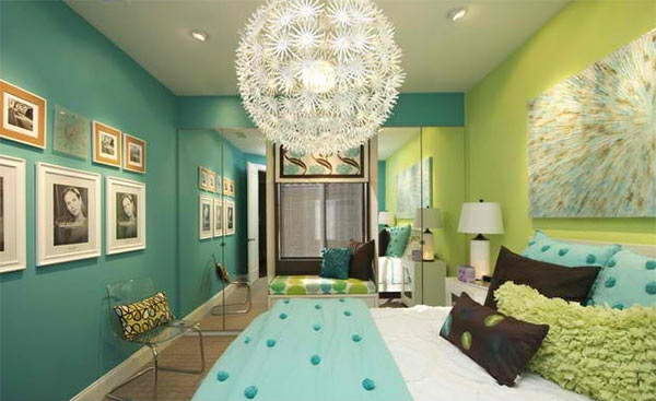 schlafzimmer farben ideen eine frische farbmischung aus. Black Bedroom Furniture Sets. Home Design Ideas