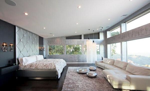 20 coole schlafzimmer ideen das schlafzimmer schick einrichten - Wand schlafzimmer gestalten ...