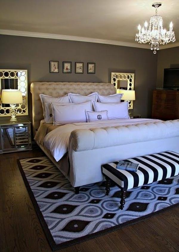 20 coole Schlafzimmer Ideen - Das Schlafzimmer schick einrichten