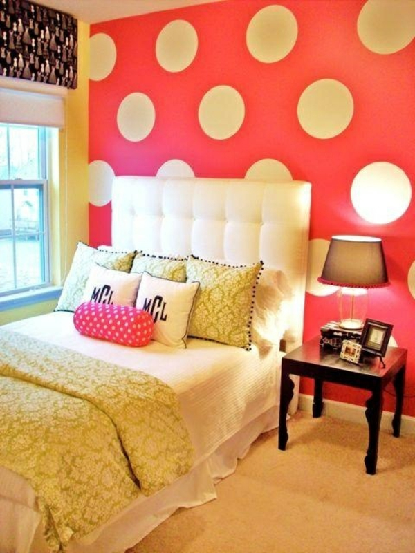 schlafzimmerwand gestalten dekoideen schlafzimmer