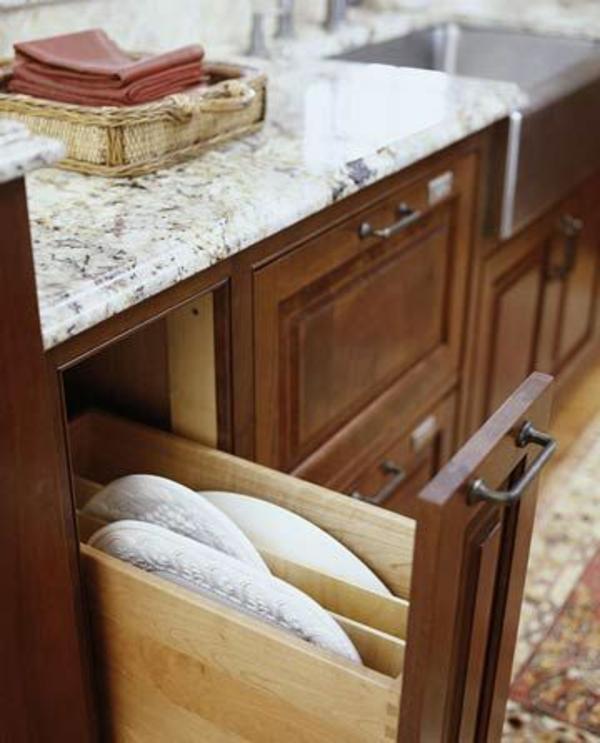 schubladeneinteilung küche ideen für schneidbretter