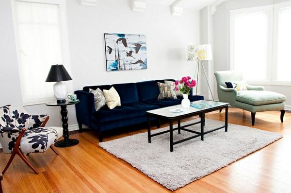 designer couch ? modernes sofa fürs wohnzimmer aus leder in weiß ... - Wohnzimmer Sofa Schwarz