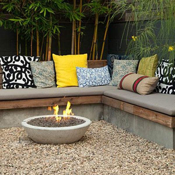 Sitzbank selber bauen haben sie spa mit dem praktischen for Garden sit out designs