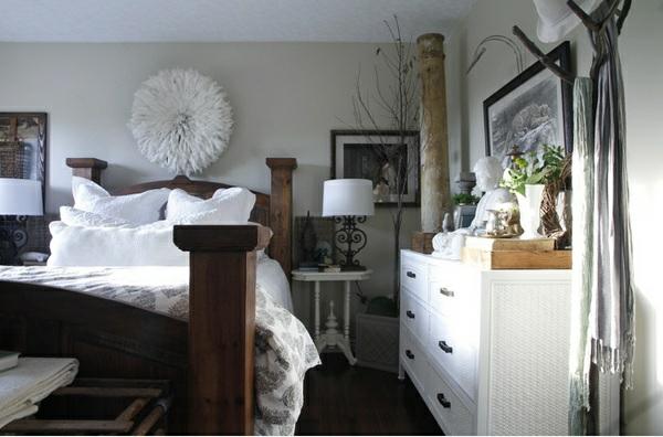 Skandinavisches Design Schlafzimmer Möbel Aus Holz Bodenbelag
