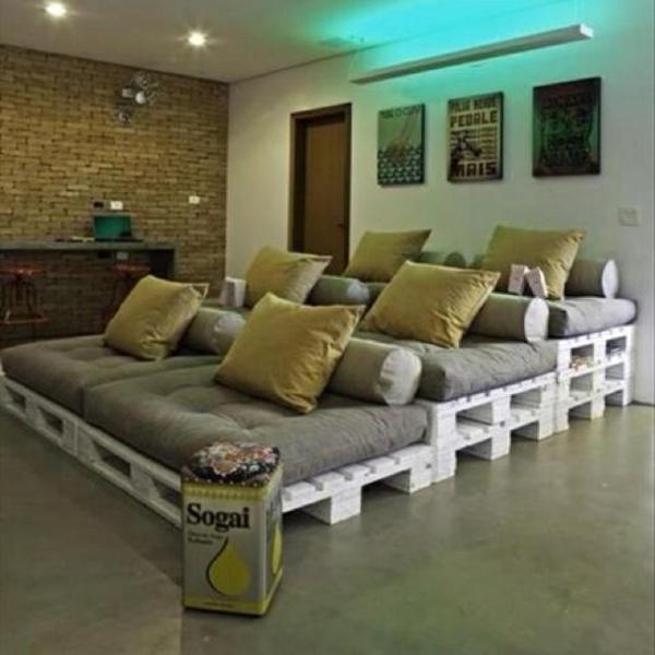 Sofa Aus Paletten Bauen sofa aus paletten integrieren diy möbel sind praktisch und originell