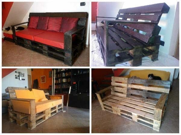 sofa aus paletten diy ideen für möbel