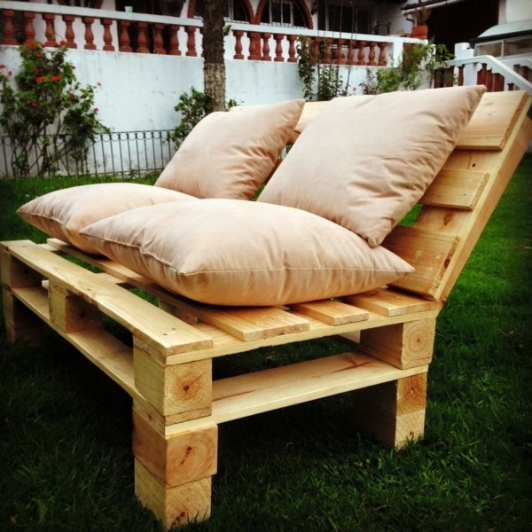 sofa aus paletten ideen gartenmöbel selber bauen