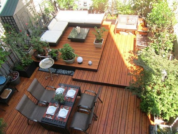 Dachterrasse Gestalten U2013 30 Beispiele Für Grüne Wohlfühloasen Auf Der  Terrasse ...