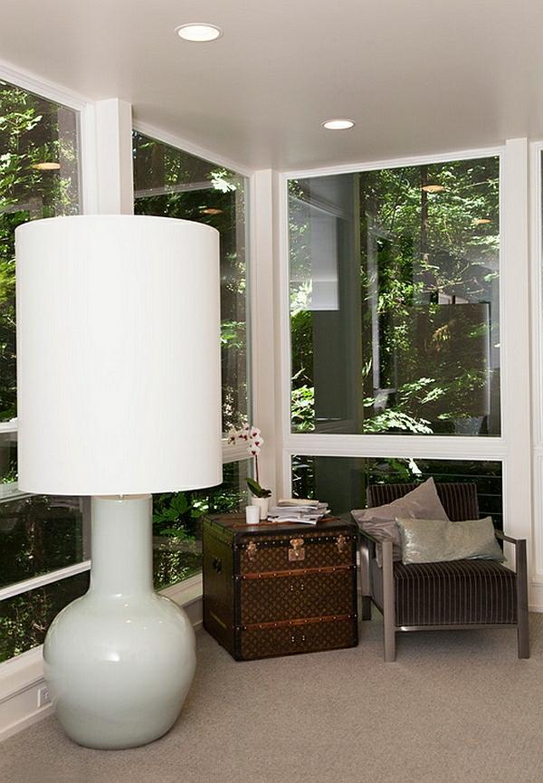 standleuchten wohnzimmer überdimensioniert bodenlampe übergroß weiß lampen und leuchten