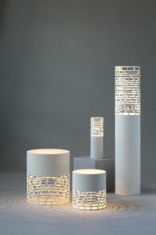 stehlampen papierlampen weiß stilvoll
