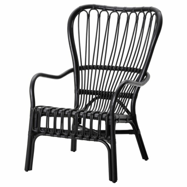 stilvolle rattanmöbel komfortabler stuhl
