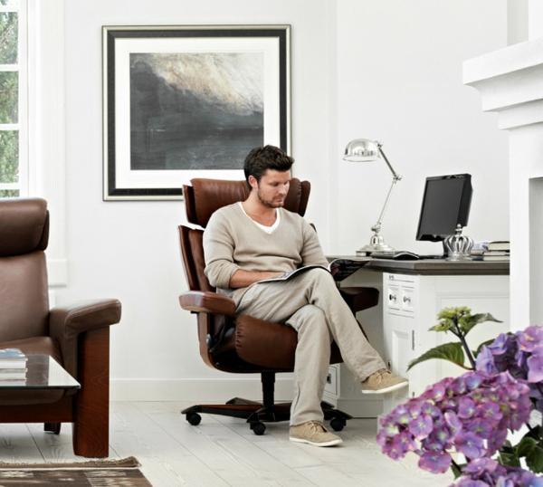 stressless bürostuhl bequem