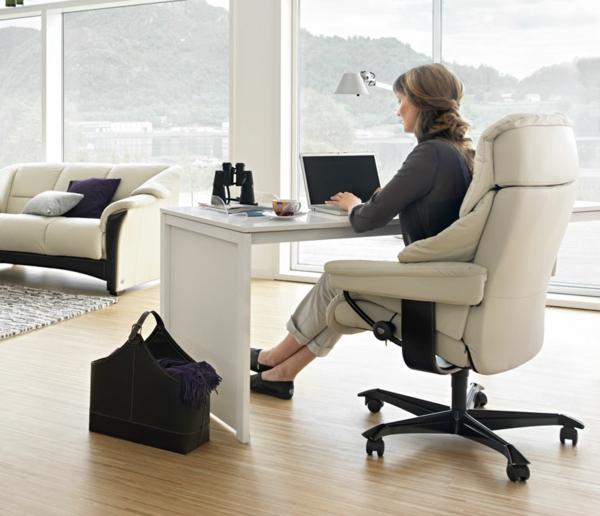 stressless bürostuhl praktisch idee