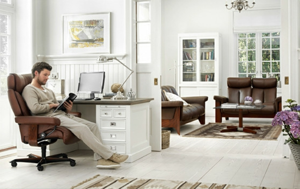 stressless bürostuhl weiß