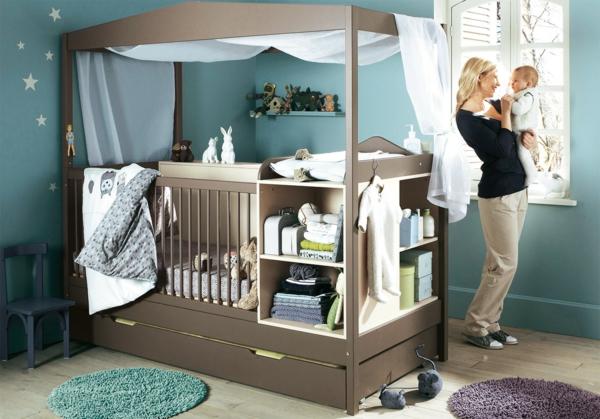 babyzimmer wandgestaltung pictures - Babyzimmer Gestalten