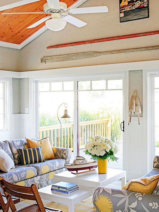 terrasse gestalten wohnideen wohnbereich möbel dekokissen klappstühle