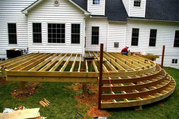 Terrasse Bilder terrasse selber bauen haben sie einen plan
