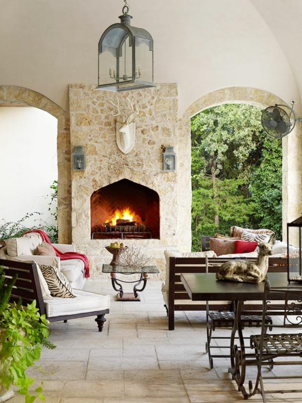 15 moderne terrassengestaltung ideen beispiele und bilder. Black Bedroom Furniture Sets. Home Design Ideas