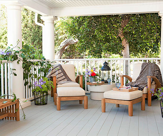 terrassengestaltung ideen holzveranda möbel sitzecke gestalten