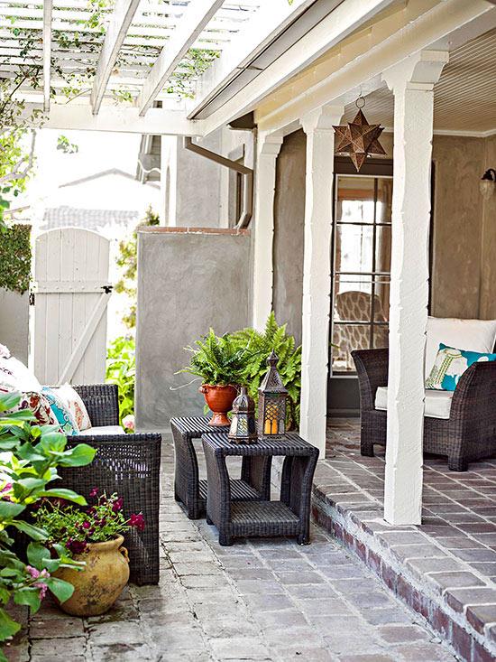 terrassengestaltung ideen 16 kreative gestaltungen f r die veranda. Black Bedroom Furniture Sets. Home Design Ideas