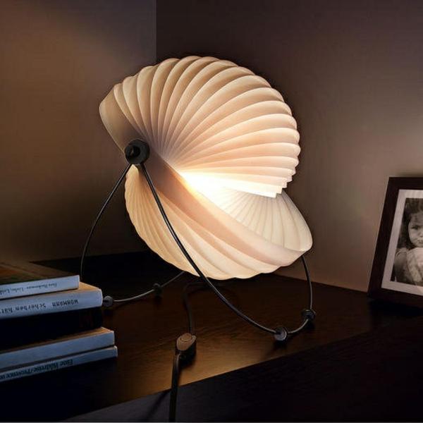 tischlampen papierlampen originell schick