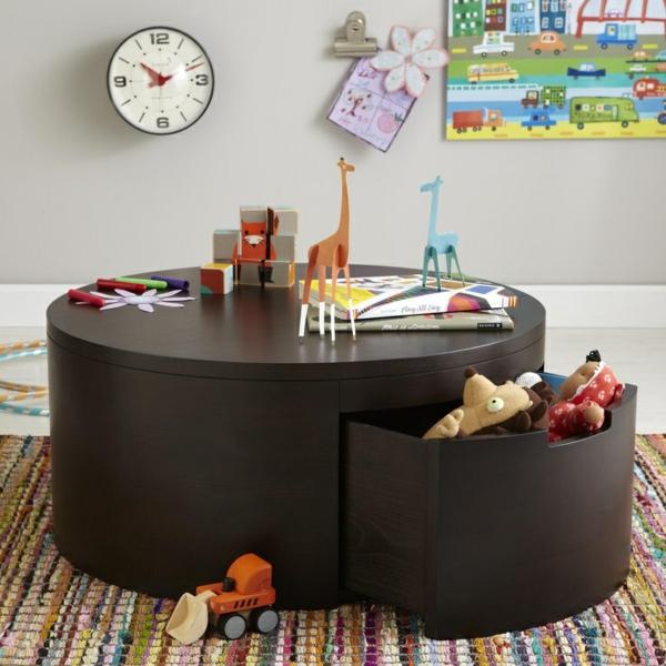 40 Couchtisch Design Ideen  Ihre Wohnung kann schöner  -> Couchtisch Rund Schublade