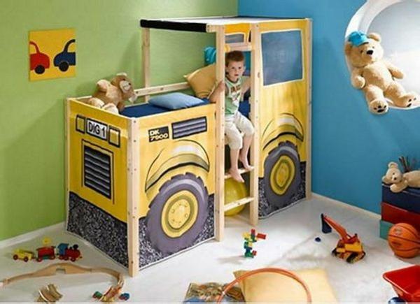 Kinderbett auto grün  Traumhafte Kinderbetten - magische Reise durch die Kinderwelt